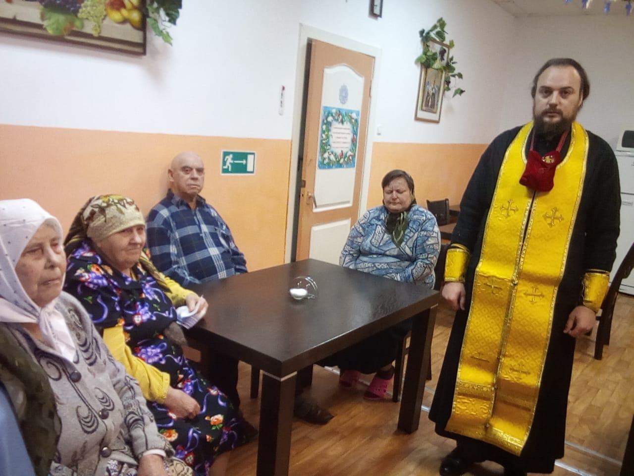Новый год в социально-реабилитационном отделении