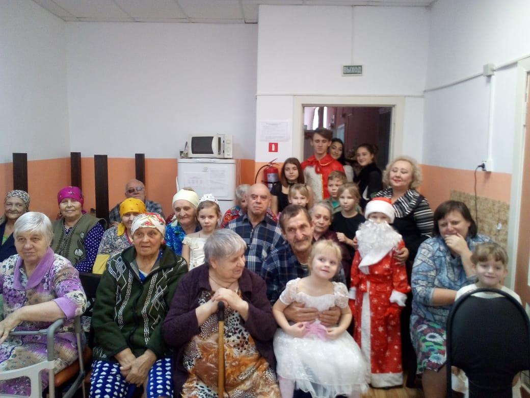 Праздничные дни в социально- реабилитационных отделениях