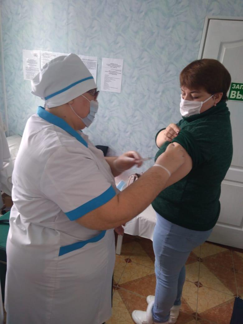 Второй этап вакцинации